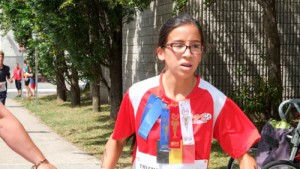 Sabrina triathlon ados 2016