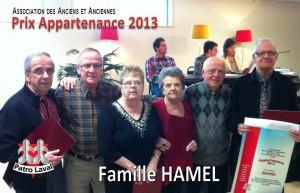 appart 2013 fam Hamel